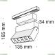 TR015-2-10W4K-B Трековый светодиодный светильник Maytoni (Майтони), Track lamps