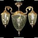 НСБ21-5х60-404 Гемма/золото Люстра на штанге Epicentr (ЭПИцентр)