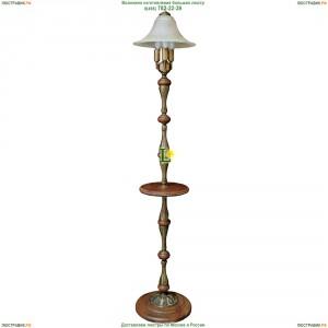 НТБ51-3х60-022 Тоскана/патина Торшер деревянный со столиком Epicentr (ЭПИцентр)