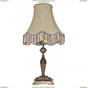 ННБ21-60-052 Тоскана/абажур/патина Настольная лампа с кожаным абажуром Epicentr (ЭПИцентр)
