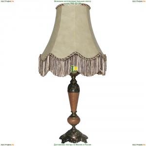 ННБ21-60-053 Тоскана/абажур/патина Настольная лампа с кожаным абажуром Epicentr (ЭПИцентр)