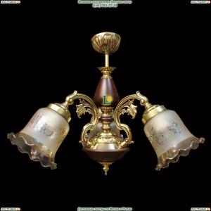 НСБ51-3х60-093 Валенсия/золото Люстра с деревом на штанге Epicentr (ЭПИцентр)