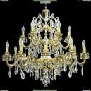 НСБ21-18х60-182 Флоренция/DF/золото Люстра хрустальная подвесная Epicentr (ЭПИцентр)