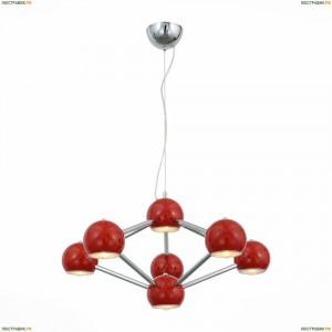 SL853.603.07 Подвесная люстра ST Luce (СТ Люче), Rottura Red