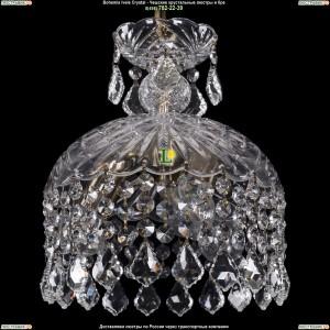 7715/22/3/FP/Leafs Хрустальная подвесная люстра Bohemia Ivele Crystal (Богемия)