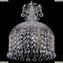7715/22/3/Ni/Balls Хрустальная подвесная люстра Bohemia Ivele Crystal (Богемия)