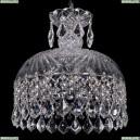 7715/30/Ni/Leafs Хрустальная подвесная люстра Bohemia Ivele Crystal (Богемия)