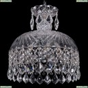 7715/30/Ni/Leafs Хрустальный подвес Bohemia Ivele Crystal
