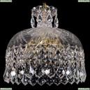 7715/35/G/Leafs Хрустальная подвесная люстра Bohemia Ivele Crystal (Богемия)