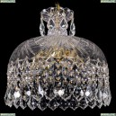 7715/35/G/Leafs Хрустальный подвес Bohemia Ivele Crystal