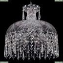 7715/35/Ni/Drops Хрустальная подвесная люстра Bohemia Ivele Crystal (Богемия)