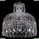 7715/35/Ni/Leafs Хрустальный подвес Bohemia Ivele Crystal
