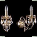 1400/1/165/G/M721 Бра хрустальное Bohemia Ivele Crystal (Богемия)