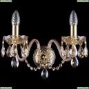 1400/2/165/G/M721 Бра хрустальное Bohemia Ivele Crystal (Богемия)