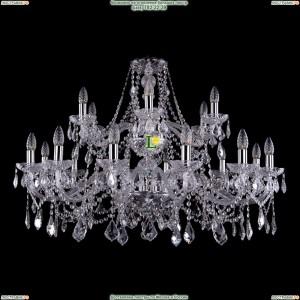 1413/12+6/360-68/2d/Ni/Leafs Хрустальная подвесная люстра Bohemia Ivele Crystal (Богемия)