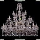 1413/20+10+5/530-135/3d/G Хрустальная большая люстра Bohemia Ivele Crystal (Богемия)