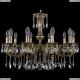 1702/10/250/A/GB Хрустальная подвесная люстра Bohemia Ivele Crystal (Богемия)