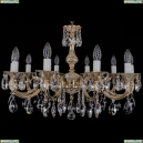 1702/10/250/A/GW Хрустальная подвесная люстра Bohemia Ivele Crystal (Богемия)