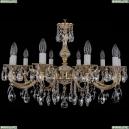 1702/10/250/A/GW Хрустальная подвесная люстра Bohemia Ivele Crystal