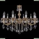 1702/10/250/B/GW Хрустальная подвесная люстра Bohemia Ivele Crystal