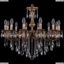 1702/12/250/B/FP Хрустальная подвесная люстра Bohemia Ivele Crystal