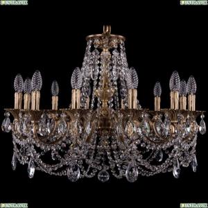 1702/12/250/C/FP Хрустальная подвесная люстра Bohemia Ivele Crystal (Богемия)