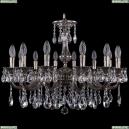 1702/14/250/A/NB Хрустальная подвесная люстра Bohemia Ivele Crystal (Богемия)