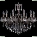 1702/14/250/B/NB Хрустальная подвесная люстра Bohemia Ivele Crystal