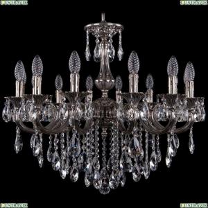 1702/14/250/B/NB Хрустальная подвесная люстра Bohemia Ivele Crystal (Богемия)