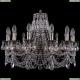 1702/14/250/C/NB Хрустальная подвесная люстра Bohemia Ivele Crystal (Богемия)