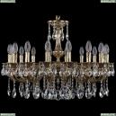 1702/16/250/A/GB Хрустальная подвесная люстра Bohemia Ivele Crystal