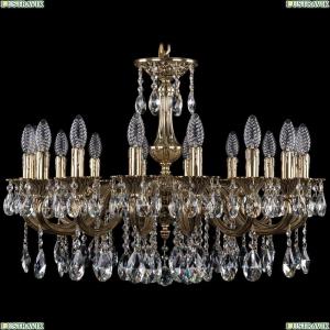 1702/16/250/A/GB Хрустальная подвесная люстра Bohemia Ivele Crystal (Богемия)