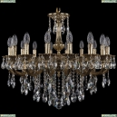 1702/16/250/B/GB Хрустальная подвесная люстра Bohemia Ivele Crystal