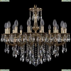 1702/16/250/B/GB Хрустальная подвесная люстра Bohemia Ivele Crystal (Богемия)