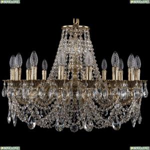 1702/16/250/C/GB Хрустальная подвесная люстра Bohemia Ivele Crystal (Богемия)