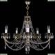 1702/5/250/C/GB Хрустальная подвесная люстра Bohemia Ivele Crystal (Богемия)