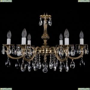 1702/6/250/A/GB Хрустальная подвесная люстра Bohemia Ivele Crystal (Богемия)