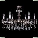 1702/6/250/A/NB Хрустальная подвесная люстра Bohemia Ivele Crystal (Богемия)