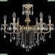 1702/6/250/B/GI Хрустальная подвесная люстра Bohemia Ivele Crystal (Богемия)