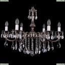 1702/6/250/B/NB Хрустальная подвесная люстра Bohemia Ivele Crystal