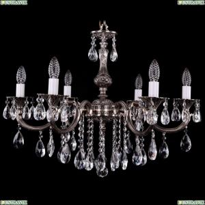 1702/6/250/B/NB Хрустальная подвесная люстра Bohemia Ivele Crystal (Богемия)