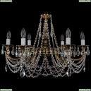 1702/6/250/C/GB Хрустальная подвесная люстра Bohemia Ivele Crystal