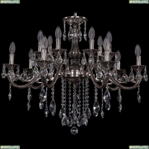 1703/14/320/B/NB Хрустальная подвесная люстра Bohemia Ivele Crystal (Богемия)