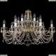 1703/14/320/C/GW Хрустальная подвесная люстра Bohemia Ivele Crystal (Богемия)