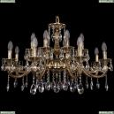1703/16/320/A/GB Хрустальная подвесная люстра Bohemia Ivele Crystal