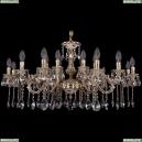 1703/18/225+125/A/GW Хрустальная подвесная люстра Bohemia Ivele Crystal