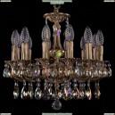 1702/12/CK125IV/A/FP/K701 Хрустальная подвесная люстра Bohemia Ivele Crystal (Богемия)