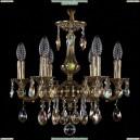 1707/6/125/A/GB/K701 Хрустальная подвесная люстра Bohemia Ivele Crystal (Богемия)