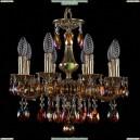 1707/8/125/A/GB/K711 Хрустальная подвесная люстра Bohemia Ivele Crystal (Богемия)
