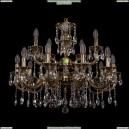 1722/10+5/265+181/A/GB Хрустальная подвесная люстра Bohemia Ivele Crystal